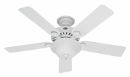 Hunter 53251 Pro's Best Five Minute Fan White Fluorescent Ceiling Fan Lighting Fixture