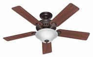 Hunter 53250 Pro's Best Five Minute Fan 52 Inch Span Pre-Assembled New Bronze Ceiling Fan Light - Fluorescent