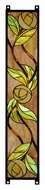 Meyda Tiffany 114713 Mackintosh Rose Stained Glass Window 35 Inch Tall Home D�cor - Right