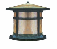 Arroyo Craftsman BC-14 Berkeley Outdoor Pier Mount - 12 inches tall
