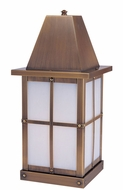Arroyo Craftsman HC-6 Hartford Craftsman Outdoor Pier Mount - 15 inches tall