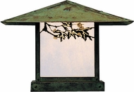 Arroyo Craftsman MC-17 Monterey Craftsman Outdoor Pier Mount - 17 inches wide