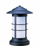Arroyo Craftsman NC-9L Newport Nautical Outdoor Pier Mount - 13.25 inches tall