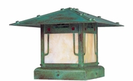 Arroyo Craftsman PDC-12GRC Pagoda Asian Outdoor Pier Mount - 12 inches wide