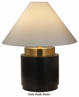 Sonneman Tondo Basso Contemporary Table Lamp