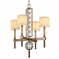 Kichler 42104CMZ Celestial 4-light Mini Chandelier with Crystal Accents