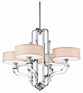 Kichler 42659CH Point Claire 4-light Modern Mini Chandelier