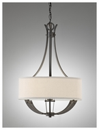 Feiss F26753CI Brody 3-light Pendant Mini Chandelier