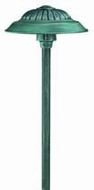 Hinkley 1573VE Saucer Adjustable Verde Patina Outdoor Post Lamp