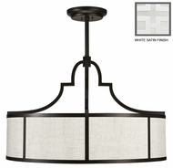 Fine Art Lamps 601840 Black & White Story Large 48 Inch Diameter Ceiling Pendant Light Fixture