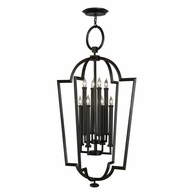 Fine Art Lamps 780440-6 Black & White Story 28 Inch Wide 8 Candle Drop Ceiling Light Fixture