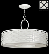Fine Art Lamps 787640 Black & White Story 40 Inch Diameter Donut Ceiling Light Pendant With Finish Options