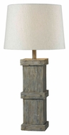 Kenroy Home 32084WDG Chandler Wood Grain 30 Inch Tall Rustic Table Lamp