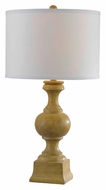 Kenroy Home 32090NWG Derby Natural Wood Finish 28 Inch Tall Transitional Table Lighting
