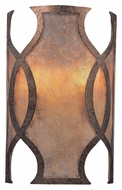 Troy B2592 Mandarin 12 Inch Tall Asian Copper Finish Light Sconce