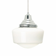 Tech Mini Tavern Low-Voltage Schoolhouse Pendant