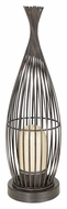 EGLO 89326A Lorena I 22 Inch Tall Antique Brown Finish Contemporary Floor Lighting