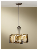 Feiss F26914RBZ Aris 4-light Pendant Uplight