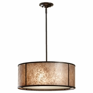 Feiss F26393LAB Taylor 3-Light Large Pendant