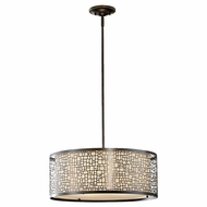 Feiss F26383 Joplin 3-Light Large Pendant
