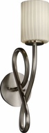 Justice Design FSN891110 Fusion Cylinder Shade Capellini Wall Sconce