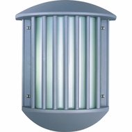 ET2 E2105361 Zenith II Contemporary 2-lamp Slotted Exterior Wall Sconce Light