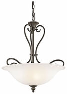 Kichler 42903OZ Tanglewood 3-lamp Large Bronze Pendant Lighting
