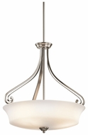 Kichler 42706CLP Wickham 3-light Ceiling Pendant Light