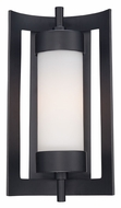 Quoizel MLN8309K Milan Large Mystic Black 16 Inch Tall Exterior Sconce