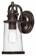 Quoizel SDN8405IB Steadman Imperial Bronze Finish 12 Inch Tall Vintage Style Outdoor Sconce - Small