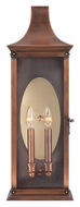 Quoizel SLM8308AC Salem Large 2 Lamp Transitional Aged Copper Exterior Wall Light Sconce