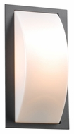 PLC 1742BZ Breda Outdoor Bronze Finish 13 Inch Tall Wall Sconce Lighting