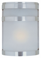Maxim 86005FTSST Arc EE Fluorescent Stainless Steel Outdoor Wall Light
