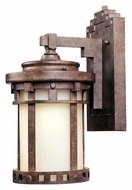 Maxim 86031MOSE Santa Barbara EE Small 10 Inch Tall Sienna Outdoor Wall Lighting