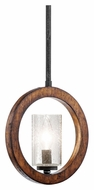 Kichler 43189AUB Grand Bank Contemporary 9 Inch Diameter Mini Pendant Light - Auburn Stained