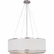 ET2 E95065 Elements Large Contemporary Pendant Light with Variety of Finish/Shade/Lamping Options