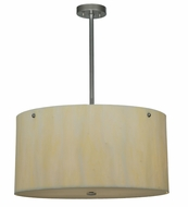 Meyda Tiffany 107560 Cilindro Faux Alabaster Contemporary Pendant