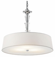 Kichler 42034CH Crystal Persuasion Modern Pendant Light