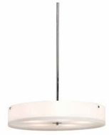 Artcraft AC7102 San Diego Large Fluorescent Contemporary Pendant Light with Chrome