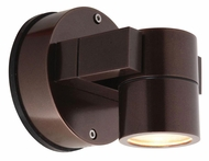 Access 20351MG-BRZ 4 Inch Tall Bronze Outdoor Security Light Fixture