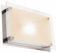 Access Vision Rectangle Contemporary Outdoor Ceiling Light / Wall Sconce