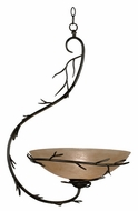 Kenroy Home 90902BRZ Twigs Small Rustic Pendant Light