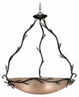 Kenroy Home 90904BRZ Twigs Large Rustic Pendant Light