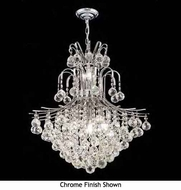 Worldwide 83041 Worldwide 11-light Crystal Chandelier Pendant