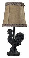 Dimond 93-91392 Braysford 15 Inch Tall Rooster Bedroom Table Lamp