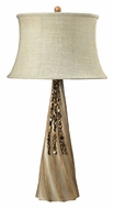 Dimond 93-9242 Rest Haven 33 Inch Tall Bleached Wood Modern Table Lamp
