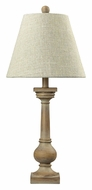 Dimond 93-9247 Taylorsville 25 Inch Tall Bleach Wood Bedroom Table Lamp