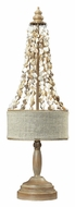 Dimond 93-9250 Rockyford Bleached Wood Transitional Table Lamp - 25 Inches Tall
