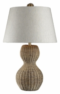 Dimond 111-1088 Sycamore Hill 26 Inch Tall Light Rattan Lighting Table Lamp