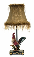 Dimond 7-208 Petite Rooster 19 Inch Tall Ainsworth Rustic Table Lamp